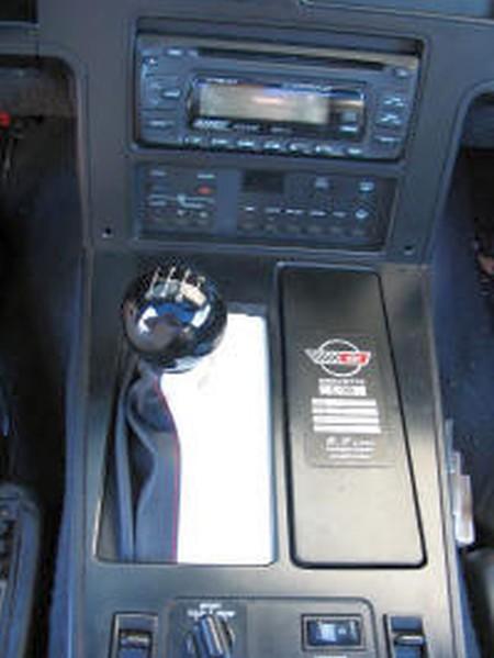 1984-1985 Corvette Leather Shift Boot for 4+3 Transmission