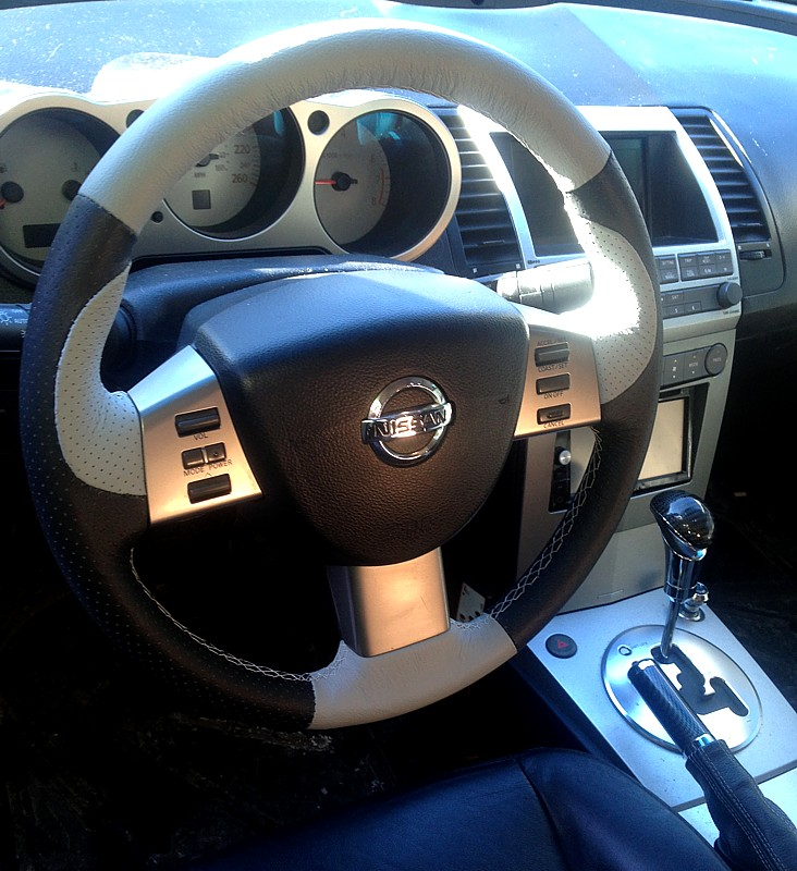 6 Gen Maxima Custom Steering Wheel Now Available At Redlinegoods