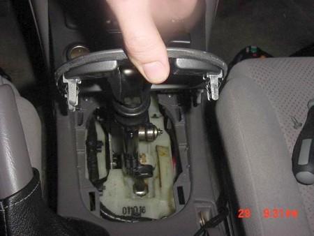 [2000 Mazda Protege Gear Shift Console Removal] - 40 ...