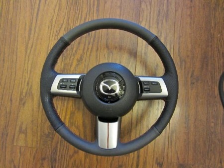 2006-15 Mazda Miata NC steering wheel installation