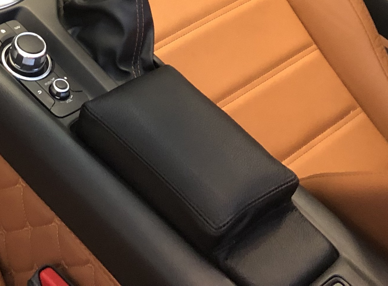 M STRIPES BEIGE STITCH GEAR /& HANDBRAKE GAITER FITS BMW 6 SERIES E63 E64 04-11