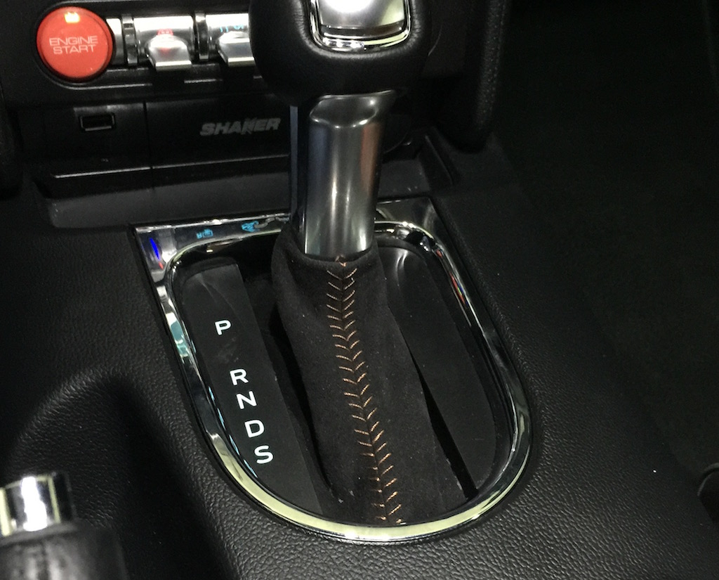 01 03 2016 2015 mustang auto shift boot