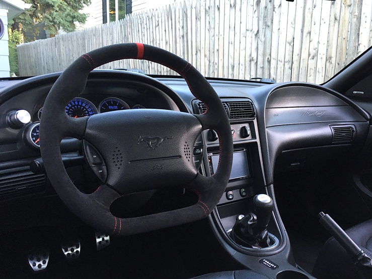 1994 04 Ford Mustang Modified Steering Wheel