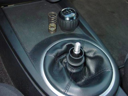 2003 08 Hyundai Tiburon Shift Boot Installation