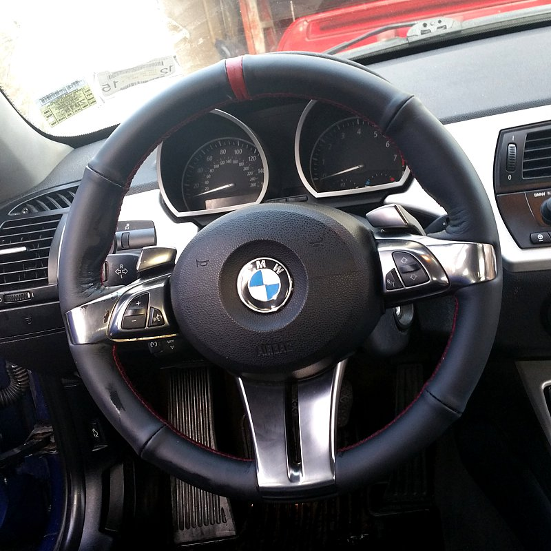 2002 08 Bmw Z4 E85 Shift Boot Amp Steering Wheel Cover