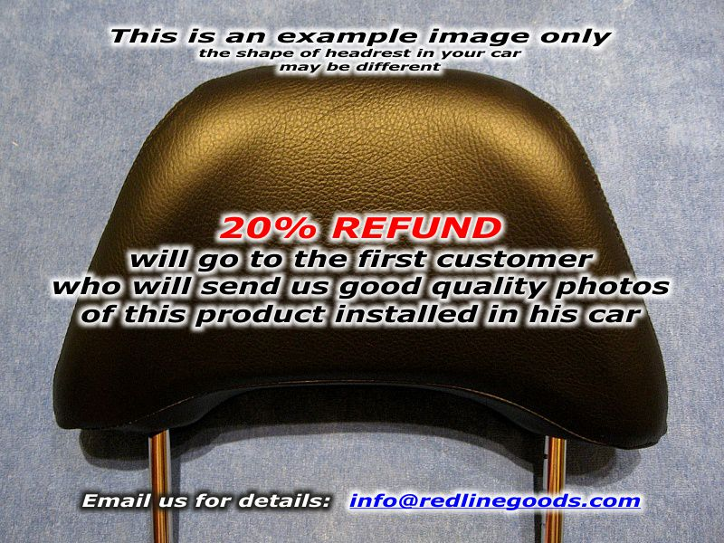 Chrysler 300 2005-10 headrest covers