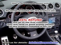 Audi A3 8P 2003-12 steering wheel cover (3-spoke)