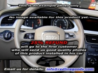 Audi A4 B8 2008-15 steering wheel cover (4-spoke)