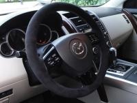 Mazda CX-9 2007-15 steering wheel cover (type 1)
