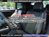 Dodge Challenger 2008-14 headrest cover 2011-14