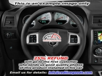 Dodge Challenger 2008-14 steering wheel cover (2011-14)