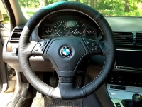 BMW 8-series E31 1989-99 steering wheel cover (Euro)