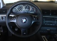BMW 5-series E39 1996-03 steering wheel cover (M5)