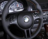 BMW X5 E53 1999-06 steering wheel cover (3-spoke)