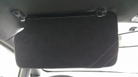 Ford Fiesta 2011-17 sun visor covers