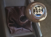 Toyota Hilux 1981-83 shift boot (RWD)