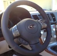 Subaru Impreza 2008-11 steering wheel cover