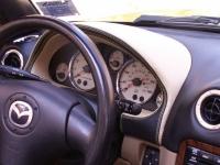 Mazda Miata NB 1998-05 gauge hood cover