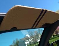 Ford Mustang 2005-09 sun visor covers