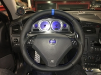 Volvo S70 2001-07 flat bottom steering wheel Flat bottom steering wheel