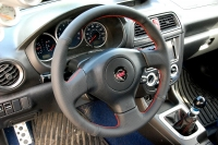 Subaru Forester 2003-08 steering wheel cover (3 spoke)