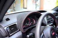 Subaru WRX & STI 2015-17 complete reupholstered gauge hood