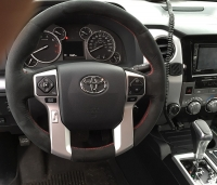 Toyota Sequoia 2008-15 steering wheel cover (2014+)