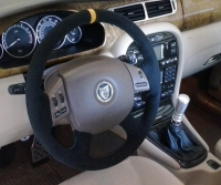 Jaguar X-Type 2001-09 steering wheel cover