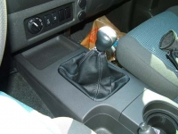 Nissan Navara 2005-14 shift boot