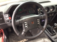 Nissan 300ZX 1984-85 steering wheel cover 4-spoke