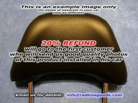 Audi A4 B5 1996-01 headrest covers